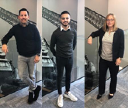 Meet our new team members: Mark, Nathalie & Ilias!