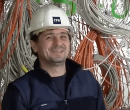 Marian-Dan: Electrician at TPS