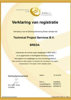 Is een SNA en NEN 4400-1 certificering een 'moetje'?